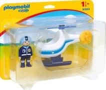PLAYMOBIL 9383 Polizeihubschrauber