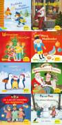 Pixi Weihnachtsserie 34, ABC, Pixi lief im Schnee