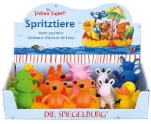 Die Spiegelburg 20940 Die Lieben Sieben - Spritztiere, ab 2 Jahre
