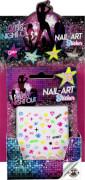 GIRLS NIGHT OUT Nail-Art Sticker, 4-fach sortiert